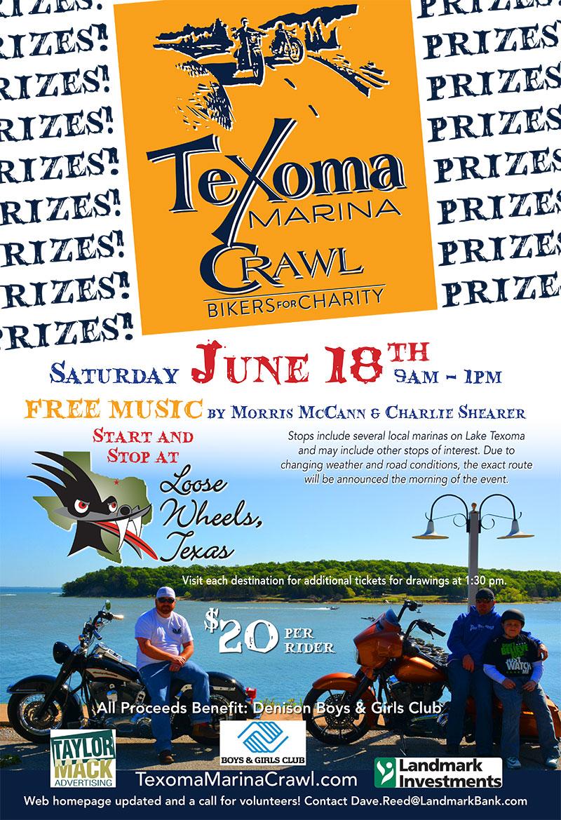 Texoma Marina Crawl ~ Bikers for Charity